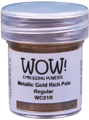 WC01 Metallic Gold Rich Pale